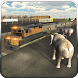 Wild Animal Transport Train 3D by Wacky Studios -Parking, Racing & Talking 3D Games