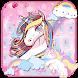 Cuteness Unicorn Keyboard Theme