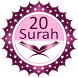Twenty Surahs Of Quran by Al Wali