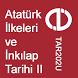 Atatürk İlk. ve İnk. Tarihi 2 by Aöf Tüm Dersler