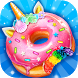 Unicorn Rainbow Donut - Sweet Desserts Bakery Chef by Crazy Camp Media