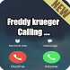 Freddy Krueger prank fake call by BADIS