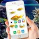 Fish on Screen Aquarium Joke by On Screen Fun