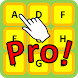 Touch alphabets in Order Pro! by Mitchy