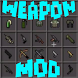Weapon mod for minecraft by EugAlukarD