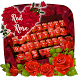 Red Rose Keyboard Theme by Keyboard Theme Factory
