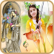 Radhe Krishna Photo Frame by AppMaker Inc