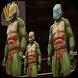 wrestler ninja strong turtle by Newtrn Inc