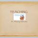 Teaching Excellence by Dheeraj Mehrotra