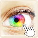 Eye Color: live contact lenses by Bizo Mobile