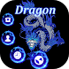 Dragon Tattoos Blue Black by New themes