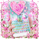 Orchid Petal Flower Keyboard by Super Cool Keyboard Theme