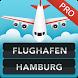 Hamburg Airport Pro by FlightInfoApps.com