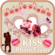 HD Kiss Photo Frame Editor by Thug Life Apps