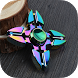 Fidget Spinner Colorful Toy by RedPlanet