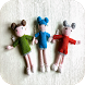 Crochet Doll Designs by Bakidoi