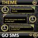 THEME FOR GO SMS GOLD DIAMONDS by Tak Team Studio