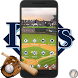 Tampa City Baseball Launcher by Art Theme Studio