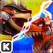 Dinowar: Ankylo vs Tyranno by ENISTUDIO Corp.