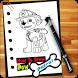 How To Draw Paw Patrol by Diloka
