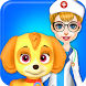 Fluffy Pets Vet Doctor Care by TinyBit