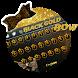 Black Golden Bow Input Theme by 3D, Launcher, Input, Live Wallpaper, Themes World