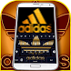 Gold adidas keyboard by the best app ladoucha