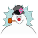 Frosty The Snowman Emoji by Swyft Media