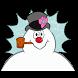 Frosty The Snowman Emoji by Swyft Media