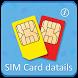 Mobile Sim Card Details by Flexible Smartess Inc.