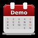 Shift Schedule calendar Demo