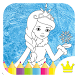 Princess Coloring Game 4 Kids by Ice Bro - games for kids