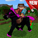 Horses mod for Minecraft PE by Quanjewy