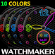 WATCH FACE SPACE ALL COLORS by Tak Team Studio