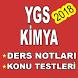 YGS Kimya Konu Anlatım & Soru Bankası 2018 by App-Center