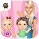 Sweet Baby Girl Twin Sisters by TutoTOONS Kids Games
