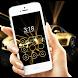 Golden Car by CheetahMobile AppLock Theme