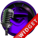 Poweramp Widget Purple Droid 5 by Maystarwerk Skins & Widgets Vol.2