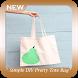 Simple DIY Pretty Tote Bag