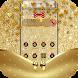 Golden Bowknot Glitter Luxury Theme by Beauty Theme Studio