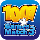 1001 All in Games Match 3 by Roxy Game