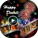 Happy Diwali Video Maker - Music Slideshow Maker by Silver Stone Studio