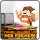 Furniture mod for minecraft pe Pocket Decoration by SimpleDrawingStudio