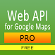 Web API for Google Maps Free by 808 Apps Maui