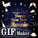 New Year HD GIF Maker 2018 by Revolution Apps Developer