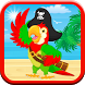 Pirate Parrot Game: Kids-FREE! by EpicGameApps