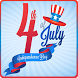 Independence day 4th july by royalapp