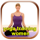 yoga exercises woman by dreampedia