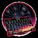 Typany Neon Ferris Wheel keyboard by Input theme