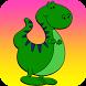 Super Dinosaur stick figure by Mousebomb